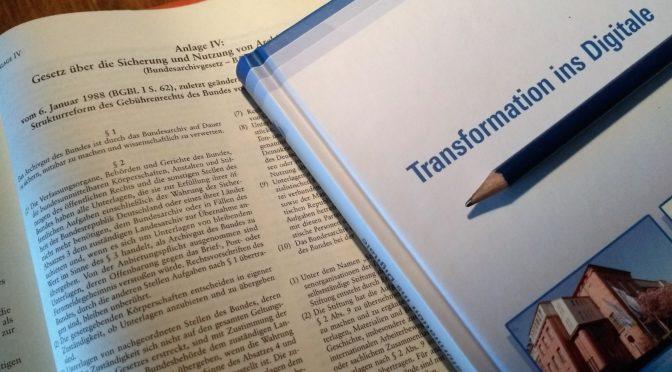 Zukunft der Archive des Bundes – Bundesregierung beantwortet Kleine Anfrage