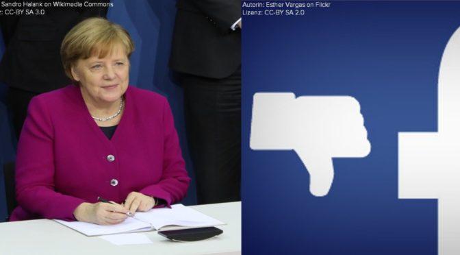 VDH und Bibliothekswesen Für Erhalt von Merkels Facebook-Seite