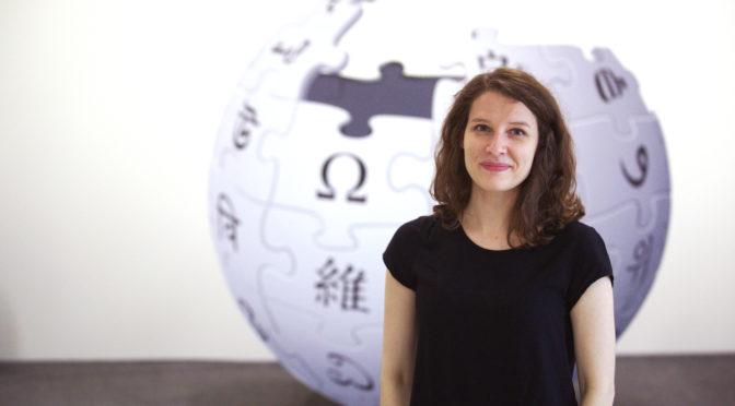 Auf dem Podium: Helene Hahn (Vorschau Offene Archive 2019, 8)