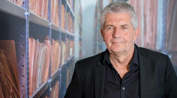 Auf dem Podium: Roland Jahn (Vorschau Offene Archive 2019, 11)