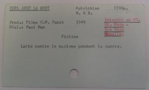 Fiche document filmé, avec mention; fichier CH2GM, © IHTP-CNRS