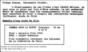Bulletin du CH2GM, n°186, 1970, extrait