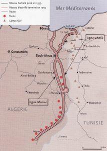 L'exemple de la frontière tunisienne ©Saber68 — Travail personnel à l'aide du logiciel cartographique ARCTIQUE licence CC BY-SA 3.0