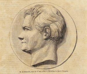 Portrait d'Henri-Marie Ducrotay de Blainville, collection BIU Santé Médecine, CIPB1121, « Licence ouverte Open Licence ».