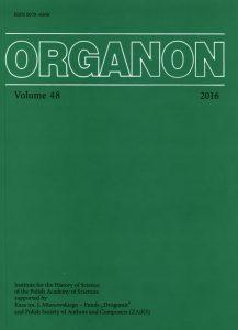 Organon, 50-2018