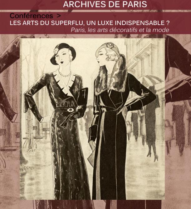 Conf rences les arts du superflu un luxe indispensable paris les arts d coratifs et la - Les arts decoratif paris ...