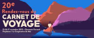 Affiche du Rendez-vous du carnet de voyage