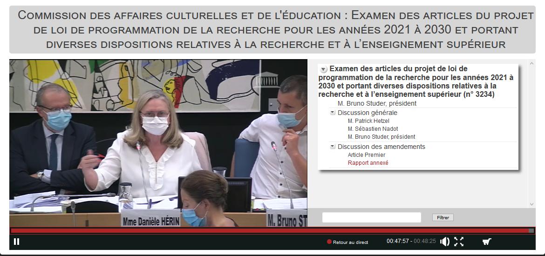 http://videos.assemblee-nationale.fr/video.9461188_5f5f83c19c956.commission-des-affaires-culturelles-et-de-l-education--examen-des-articles-du-projet-de-loi-de-prog-14-septembre-2020