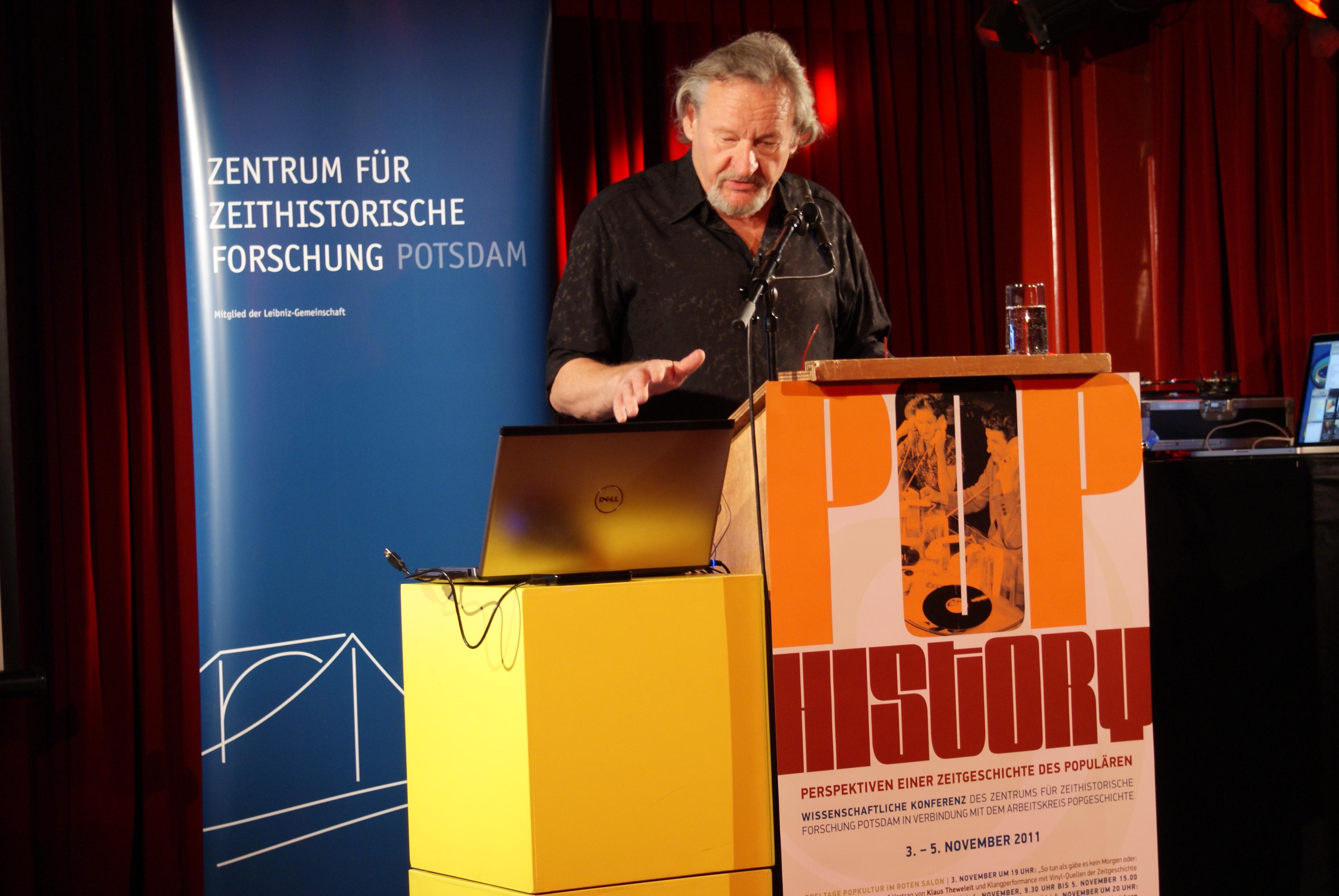 "Klaus Theweleit: ""So tun als gäbe es kein Morgen"" (Video)"