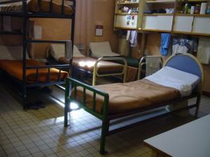 L'un des dortoirs en avril 2010 (photographie de Jean-Claude Vimont)