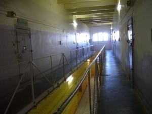 L'aile du commun sur deux niveaux ( les dortoirs en fonctionnement en avril 2010 se trouvaient au rez de chaussée (photographie de Jean-Claude Vimont)