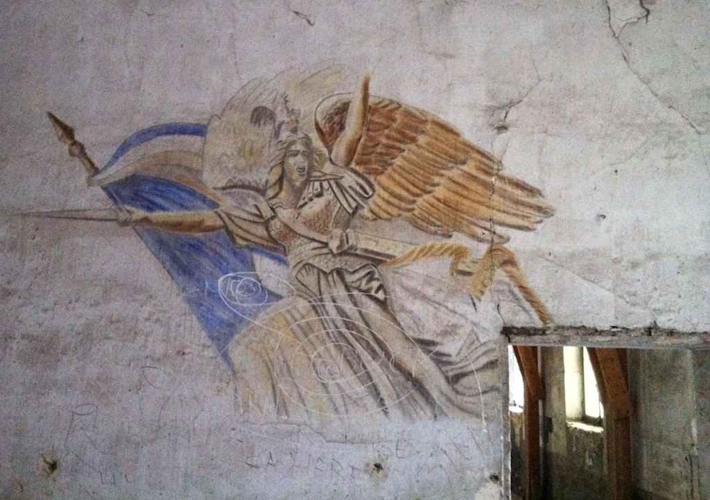 Graffiti du Château de Gaillon