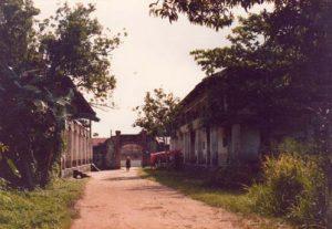 Vue intérieure du camp de la transportation, été 1979, collection privée Michel Pierre.