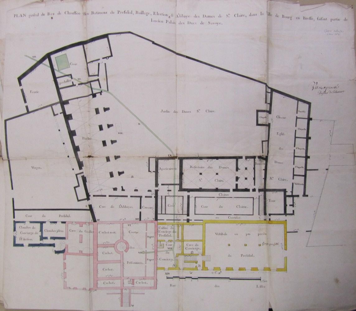 l ancienne prison de bourg en bresse ain tienne bertrand criminocorpus. Black Bedroom Furniture Sets. Home Design Ideas