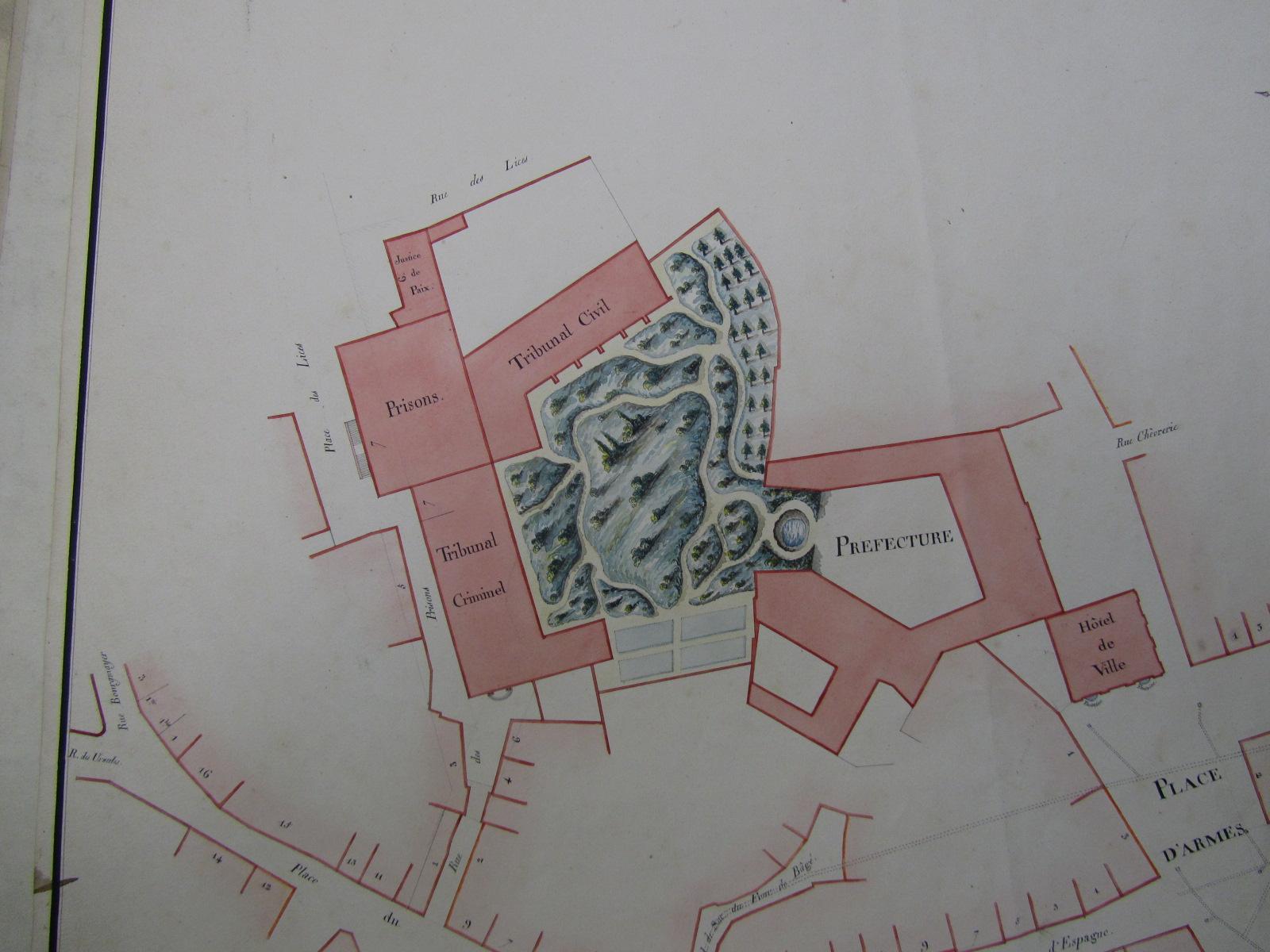 L ancienne prison de bourg en bresse ain tienne for Plattard carrelage bourg en bresse