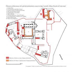Fig. 8. Les vestiges de la prison dans l'actuelle Abbaye Royale de Fontevraud.