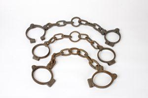 Fig. 30. Trois exemples de fers. Cl. P. Giraud © Région des Pays de la Loire.