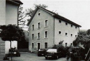 Ill 1 BezirksgefÑngnis Affoltern a. Albis, ZÅrich, 1856-1973, Denkmalpflege