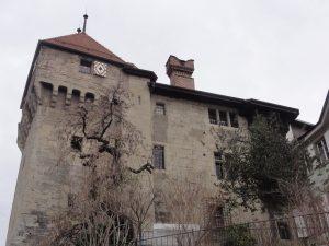 Fig. 4 Prison de district de l'Evêché, à Lausanne, canton de Vaud, 16e siècle – 1926, aujourd'hui Musée historique de Lausanne. © D. Fink