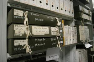 Photos de boîtes d'archives de l'IHTP