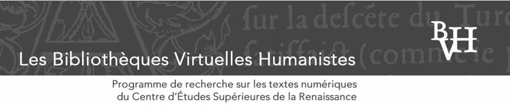 Bibliothèques Humanistes