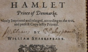 Signature Shakespeare