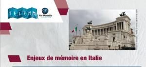 Le musée national de l'émigration italienne : enjeux mémoriels