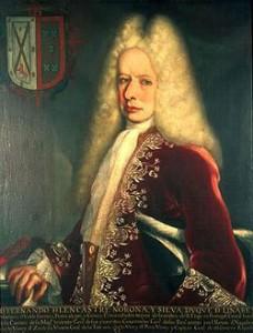 Don Fernando de Alencastre Noroña y Silva, duque de Linares (cuadro atribuido a Juan Rodríguez Juárez).