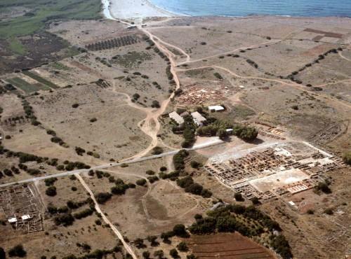 Site archéologique de Malia (la Maison Epsilon est en bas à gauche)