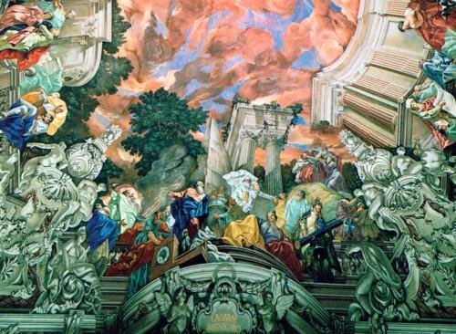 Fig. 3 : hall d'apparat de l'Académie autrichienne des Sciences (détail du plafond).