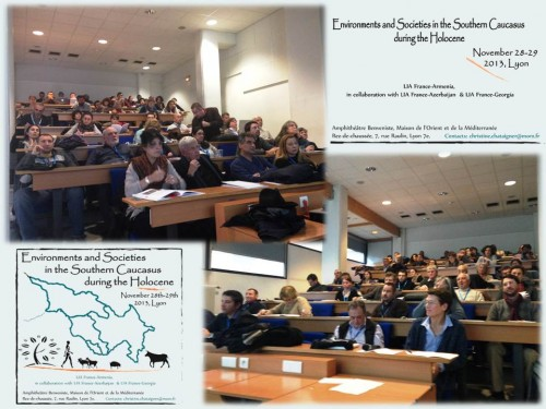 Fig. 4-5: Attendees and participants in LIA-Conference, Lyon.