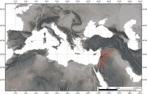 Figure 1 : Carte de localisation de la zone d'étude.