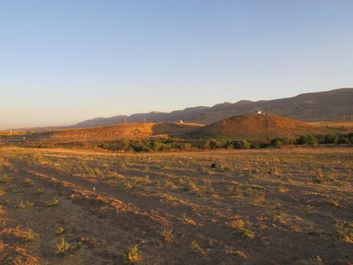 Fig. 2: vue générale de Kunara depuis le nord-est (Aline Tenu).
