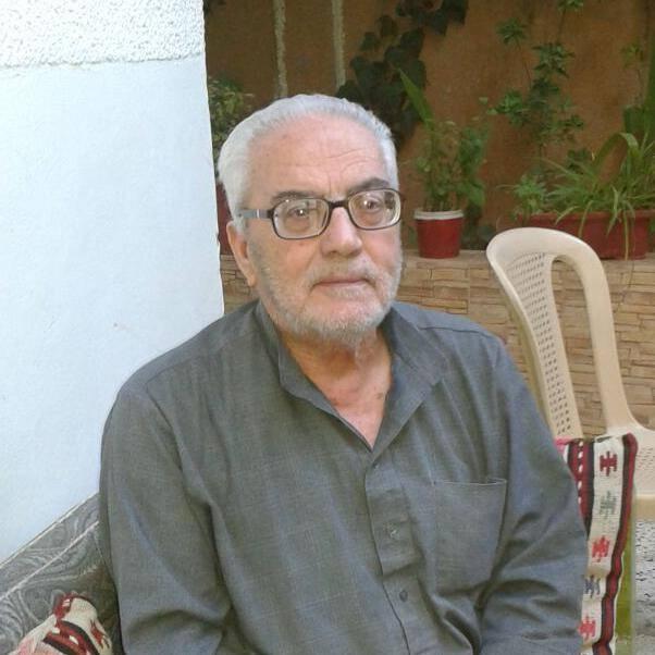 Khaled Asaad peu avant d'être emprisonné (archive  de la famille Asaad)