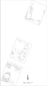 Fig. 14 : plan des carrés C1, C2 et C4.