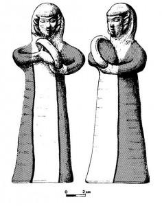 Fig. 4 : joueuse de tambourin (Mazar 2003 : 109).