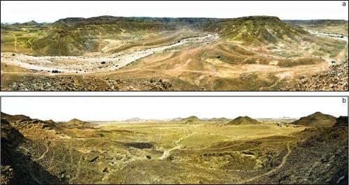 Fig 1: Les Hautes Terres d'Arabie du Sud.