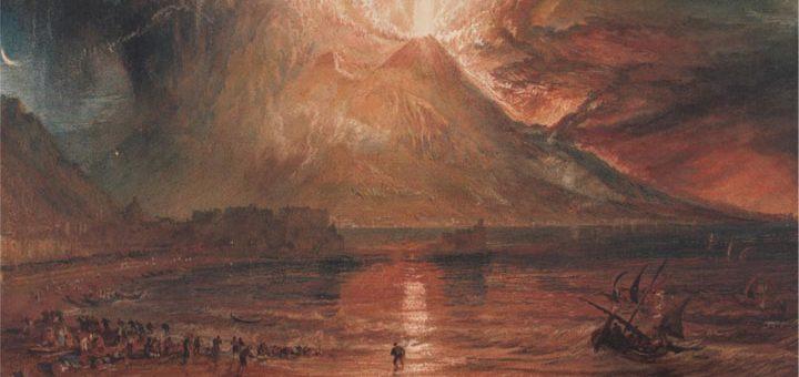 (William Turner - Eruption du Vésuve - © Yale Center for British Art, collection Paul Mellon)