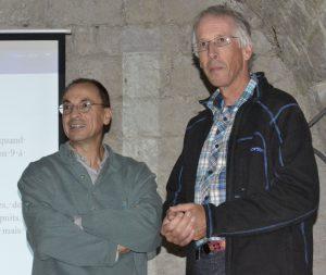 Fig. 4 : Jean-Yves Bigot et Didier Cailhol (Photo Françoise Prudhomme)