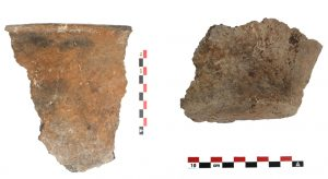 Fig. 11 : Fragments de céramique chalcolithique. © Mission Caucase.