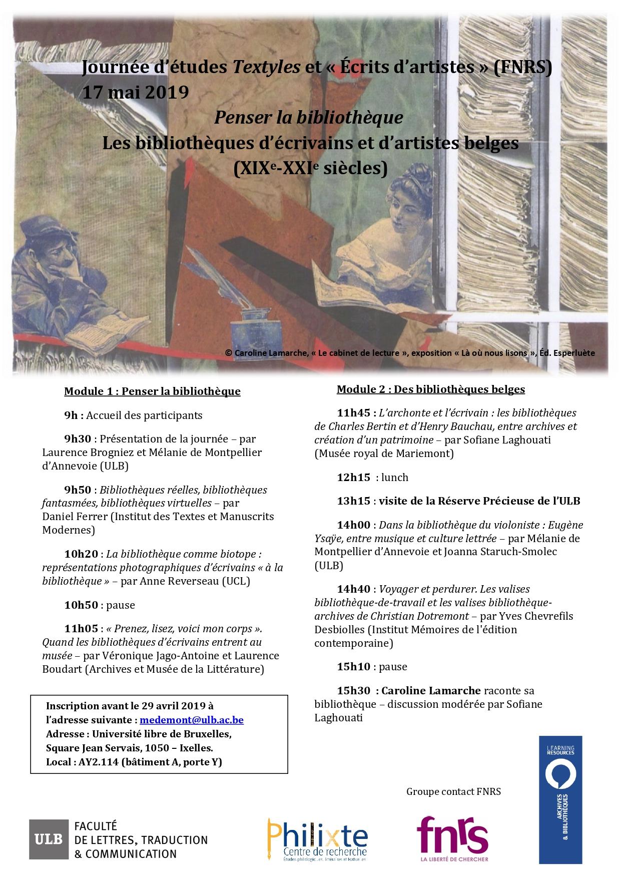 Textyles Revue Des Lettres Belges De Langue Francaise