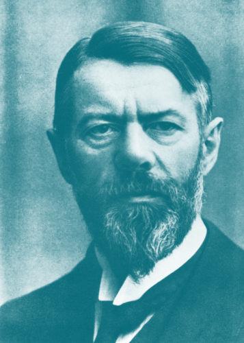 Max Weber, um 1917 (bpk, Bild-Nr. 10003266