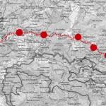 Carte itinéraire Genil