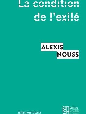 """""""La condition de l'exilé."""" Présentation au Comptoir des Presses, 25 novembre 2015"""