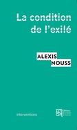 """Présentation """"La condition de l'exilé"""", 11 janvier 2015, 19h30"""
