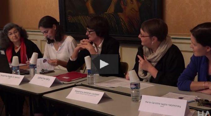 Vidéos. Journée d'étude « L'objet de la migration : la construction de la figure de l'exilé par les objets dans l'espace narratif » 21 novembre 2016 (Inalco)