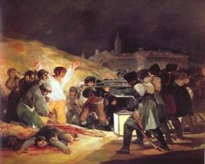 El tres de mayo de 1808 en Madrid / Francisco de Goya. Musée du Prado, Madrid