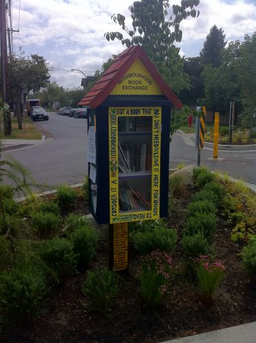 Neighbourhood Book Exchange - Richard Eriksson