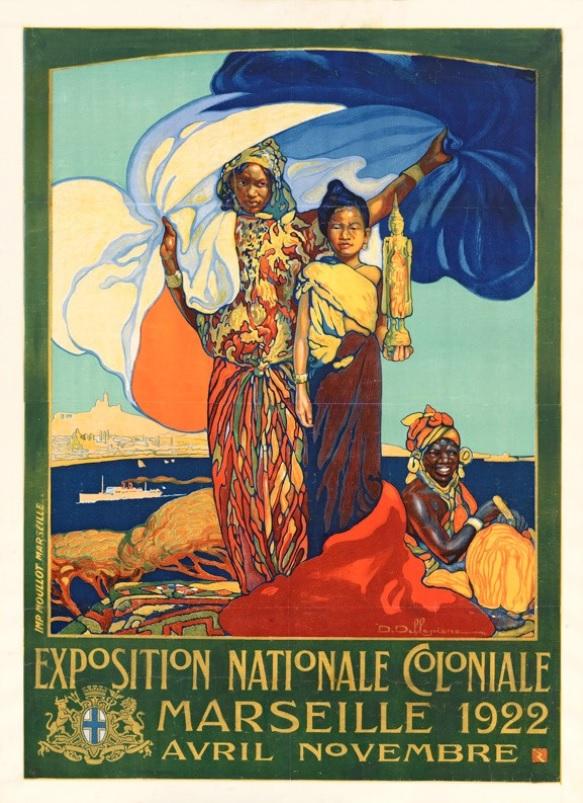 Les trésors de la Médiathèque : l'exposition coloniale de Marseille -1922