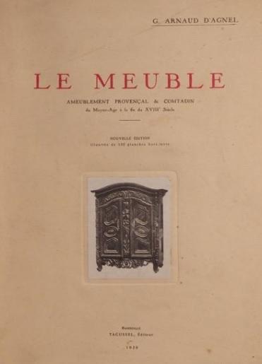 Les trésors de la médiathèque : le meuble provençal
